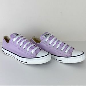 Converse Unisex low-top lavender All-Star sneakers